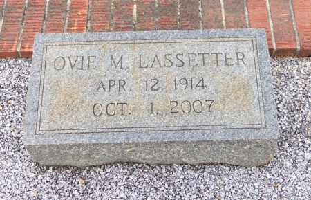 LASSETTER, OVIE M - Carroll County, Georgia | OVIE M LASSETTER - Georgia Gravestone Photos