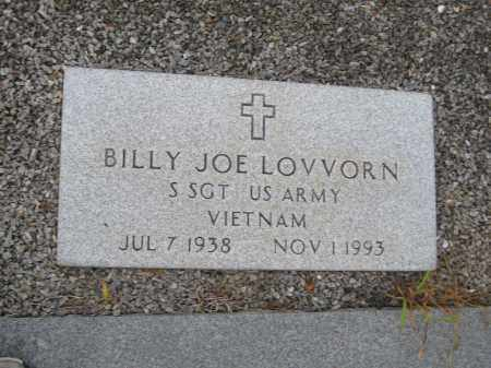 LOVVORN, BILLY JOE - Carroll County, Georgia | BILLY JOE LOVVORN - Georgia Gravestone Photos