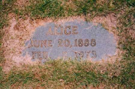 JOHNSON MCINTOSH, MARY ALICE - Carroll County, Georgia | MARY ALICE JOHNSON MCINTOSH - Georgia Gravestone Photos