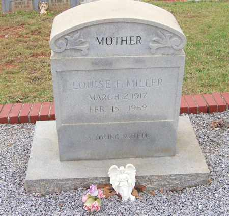 MILLER, LOUISE F - Carroll County, Georgia | LOUISE F MILLER - Georgia Gravestone Photos