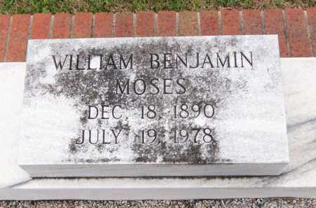 MOSES, WILLIAM BENJAMIN - Carroll County, Georgia | WILLIAM BENJAMIN MOSES - Georgia Gravestone Photos