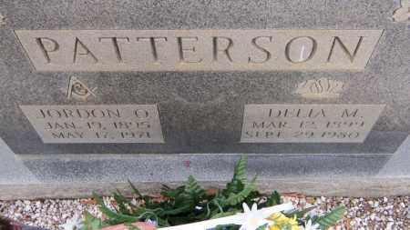 PATTERSON, JORDON OSCAR - Carroll County, Georgia   JORDON OSCAR PATTERSON - Georgia Gravestone Photos