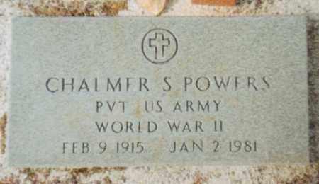 POWERS, CHALMER S - Carroll County, Georgia | CHALMER S POWERS - Georgia Gravestone Photos