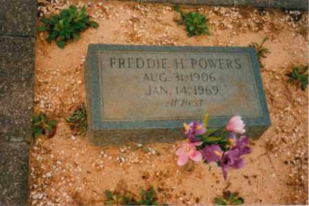 POWERS, FREDDIE HOKE - Carroll County, Georgia | FREDDIE HOKE POWERS - Georgia Gravestone Photos