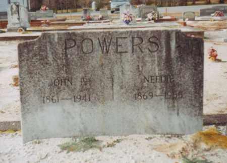 "POWERS, MARY ANN SUSAN BURNETIA ""NEEDIE"" - Carroll County, Georgia   MARY ANN SUSAN BURNETIA ""NEEDIE"" POWERS - Georgia Gravestone Photos"