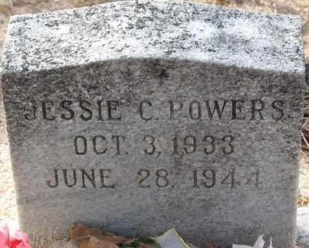 POWERS, JESSIE C - Carroll County, Georgia   JESSIE C POWERS - Georgia Gravestone Photos