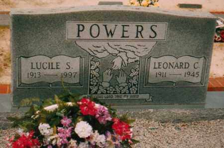 POWERS, LEONARD C - Carroll County, Georgia | LEONARD C POWERS - Georgia Gravestone Photos
