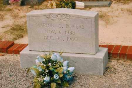 POWERS, MARION O - Carroll County, Georgia | MARION O POWERS - Georgia Gravestone Photos