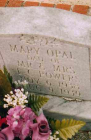 POWERS, MARY OPAL - Carroll County, Georgia | MARY OPAL POWERS - Georgia Gravestone Photos