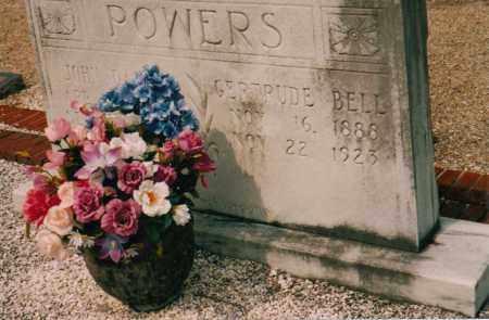 BELL POWERS, OLIE GERTRUDE - Carroll County, Georgia   OLIE GERTRUDE BELL POWERS - Georgia Gravestone Photos