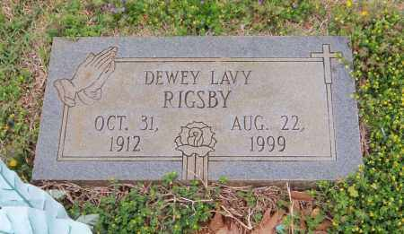 RIGSBY, DEWEY LAVY - Carroll County, Georgia | DEWEY LAVY RIGSBY - Georgia Gravestone Photos