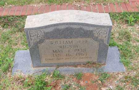 RIGSBY, WILLIAM LEE - Carroll County, Georgia | WILLIAM LEE RIGSBY - Georgia Gravestone Photos