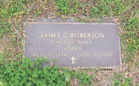 ROBERSON, JAMES C - Carroll County, Georgia | JAMES C ROBERSON - Georgia Gravestone Photos