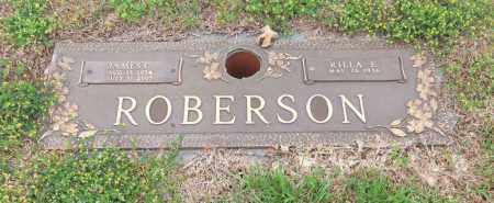 ROBERSON, RILLA E - Carroll County, Georgia | RILLA E ROBERSON - Georgia Gravestone Photos