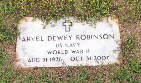 ROBINSON, ARVEL DEWEY - Carroll County, Georgia | ARVEL DEWEY ROBINSON - Georgia Gravestone Photos
