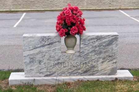 ROBINSON, MARY OILLIE - Carroll County, Georgia | MARY OILLIE ROBINSON - Georgia Gravestone Photos