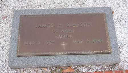 SIMPSON, JAMES H - Carroll County, Georgia | JAMES H SIMPSON - Georgia Gravestone Photos
