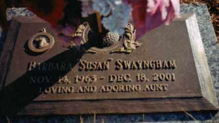 SWAYNGHAM, BARBARA SUSAN - Carroll County, Georgia | BARBARA SUSAN SWAYNGHAM - Georgia Gravestone Photos