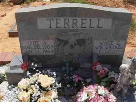 TERRELL, ANNIE - Carroll County, Georgia | ANNIE TERRELL - Georgia Gravestone Photos