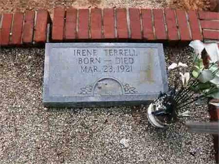 TERRELL, IRENE - Carroll County, Georgia   IRENE TERRELL - Georgia Gravestone Photos