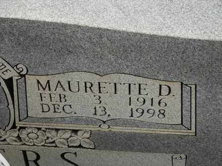 DUNCAN WATERS, MAURETTE APHIE - Carroll County, Georgia | MAURETTE APHIE DUNCAN WATERS - Georgia Gravestone Photos