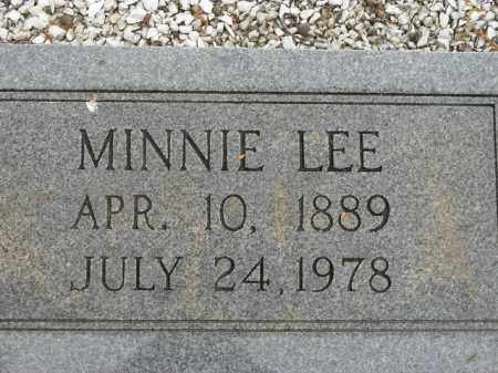 WATERS, MINNIE LEE - Carroll County, Georgia | MINNIE LEE WATERS - Georgia Gravestone Photos