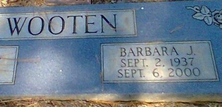 VENABLE WOOTEN, BARBARA JEAN - Chattooga County, Georgia | BARBARA JEAN VENABLE WOOTEN - Georgia Gravestone Photos