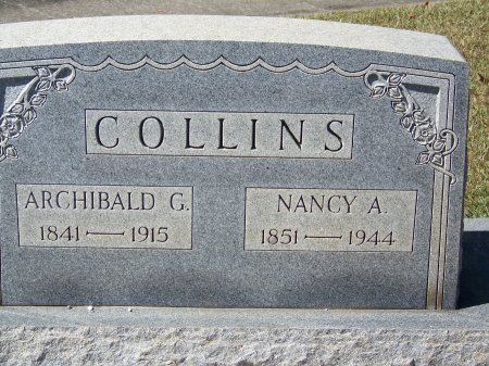 COLLINS, NANCY ANN - Cherokee County, Georgia | NANCY ANN COLLINS - Georgia Gravestone Photos
