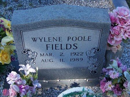 POOLE FIELDS, WYLENE - Cherokee County, Georgia | WYLENE POOLE FIELDS - Georgia Gravestone Photos