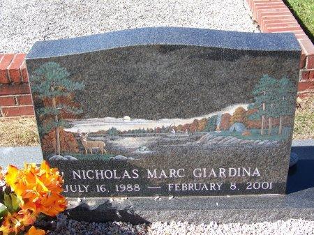 GIARDINA, NICHOLAS MARC - Cherokee County, Georgia | NICHOLAS MARC GIARDINA - Georgia Gravestone Photos