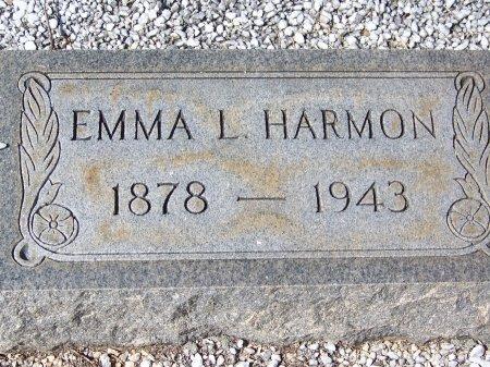 HARMON, EMMA L - Cherokee County, Georgia   EMMA L HARMON - Georgia Gravestone Photos