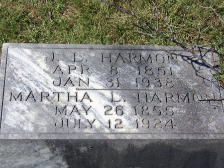 FIELDS HARMON, MARTHA LOUISA - Cherokee County, Georgia   MARTHA LOUISA FIELDS HARMON - Georgia Gravestone Photos