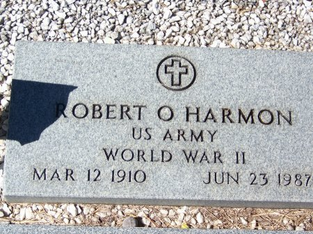 HARMON (VETERAN WWII), ROBERT O. (NEW) - Cherokee County, Georgia | ROBERT O. (NEW) HARMON (VETERAN WWII) - Georgia Gravestone Photos