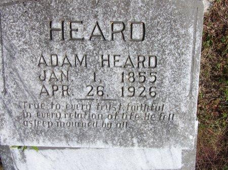 HEARD, ADAM - Cherokee County, Georgia   ADAM HEARD - Georgia Gravestone Photos