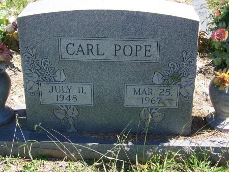 POPE, CARL - Cherokee County, Georgia | CARL POPE - Georgia Gravestone Photos