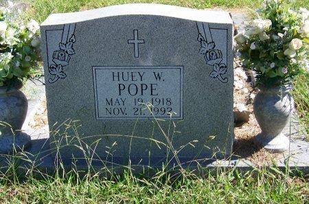 POPE, HUEY W - Cherokee County, Georgia   HUEY W POPE - Georgia Gravestone Photos
