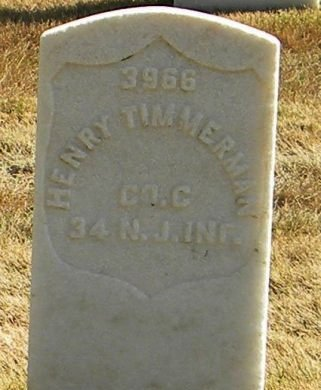 TIMMERMAN (VETERAN CW), HENRY (NEW) - Cobb County, Georgia | HENRY (NEW) TIMMERMAN (VETERAN CW) - Georgia Gravestone Photos