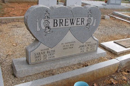 BREWER, SARAH RUTH - Franklin County, Georgia | SARAH RUTH BREWER - Georgia Gravestone Photos