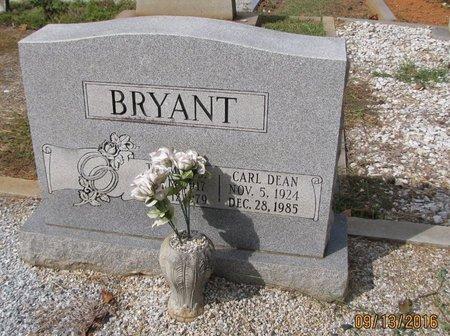 BRYANT, CARL DEAN - Franklin County, Georgia | CARL DEAN BRYANT - Georgia Gravestone Photos