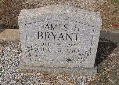 BRYANT, JAMES H - Franklin County, Georgia | JAMES H BRYANT - Georgia Gravestone Photos