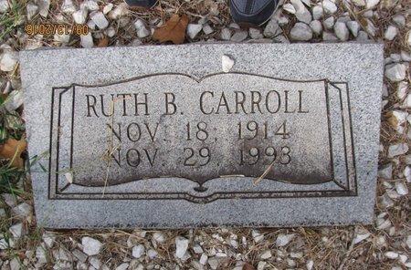 CARROLL, RUTH - Franklin County, Georgia | RUTH CARROLL - Georgia Gravestone Photos