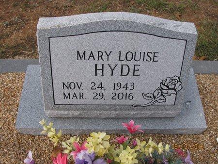 HYDE, MARY LOUISE - Franklin County, Georgia   MARY LOUISE HYDE - Georgia Gravestone Photos