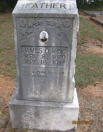 KING, JAMES O - Franklin County, Georgia | JAMES O KING - Georgia Gravestone Photos