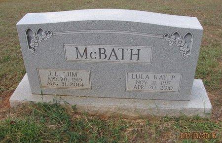 "MCBATH, SR, JAMES LUTHER ""JIM"" - Franklin County, Georgia | JAMES LUTHER ""JIM"" MCBATH, SR - Georgia Gravestone Photos"