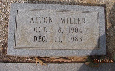 MILLER, ALTON - Franklin County, Georgia | ALTON MILLER - Georgia Gravestone Photos