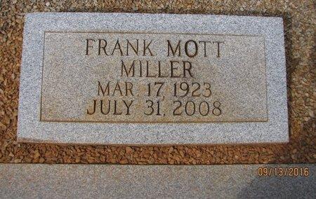MILLER, FRANK MOTT - Franklin County, Georgia   FRANK MOTT MILLER - Georgia Gravestone Photos