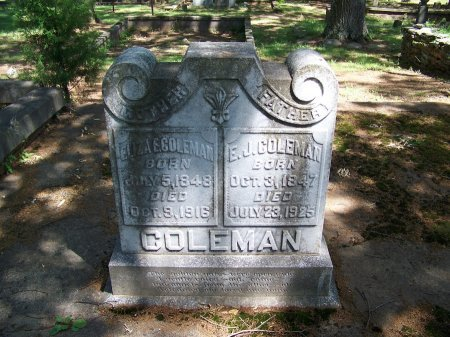 COLEMAN, ELIZA E. - Fulton County, Georgia | ELIZA E. COLEMAN - Georgia Gravestone Photos