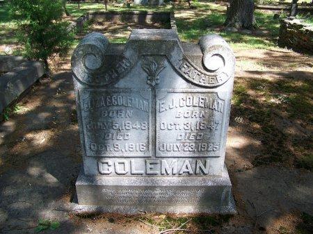 "COLEMAN, ELIJAH J ""E. J."" - Fulton County, Georgia | ELIJAH J ""E. J."" COLEMAN - Georgia Gravestone Photos"