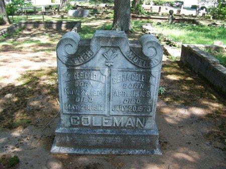 "COLEMAN, AMANDA EUGENIA ""GENIA"" - Fulton County, Georgia | AMANDA EUGENIA ""GENIA"" COLEMAN - Georgia Gravestone Photos"