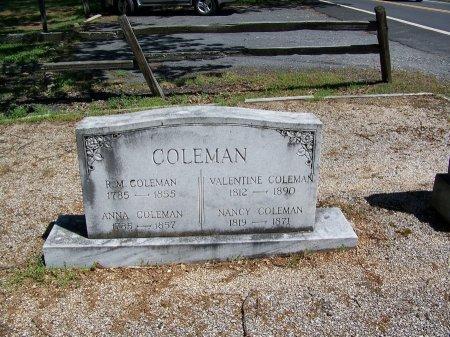 COLEMAN, NANCY - Fulton County, Georgia   NANCY COLEMAN - Georgia Gravestone Photos